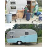 Our Vintage Camper: Before and After 4