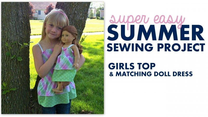 DIY Fun Summer Sewing Project For Your Daughter