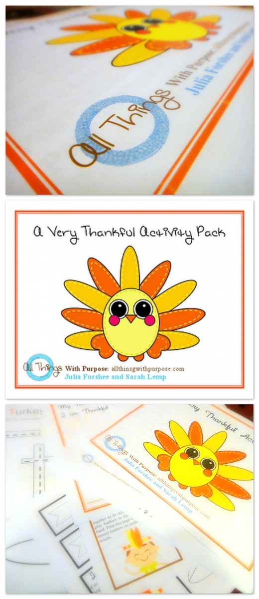 THANKGIVING PRINTABLE ACTIVITY PACK