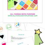 Free felt advent calendar pattern and family devotions
