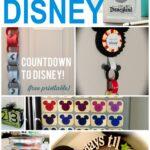 Top 50 Ways to Countdown to Disney 52