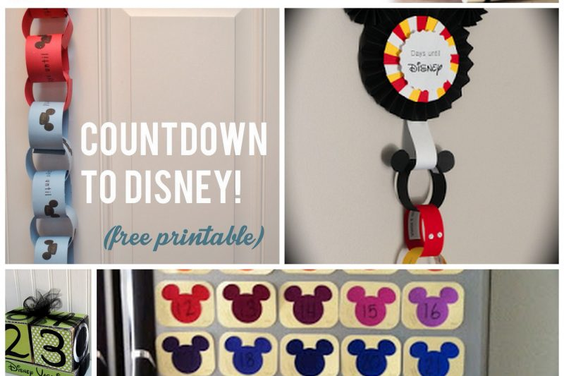 Top 50 Ways to Countdown to Disney