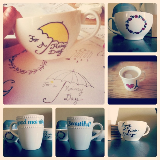 Paint Pen How To Make Permanent On Mugs