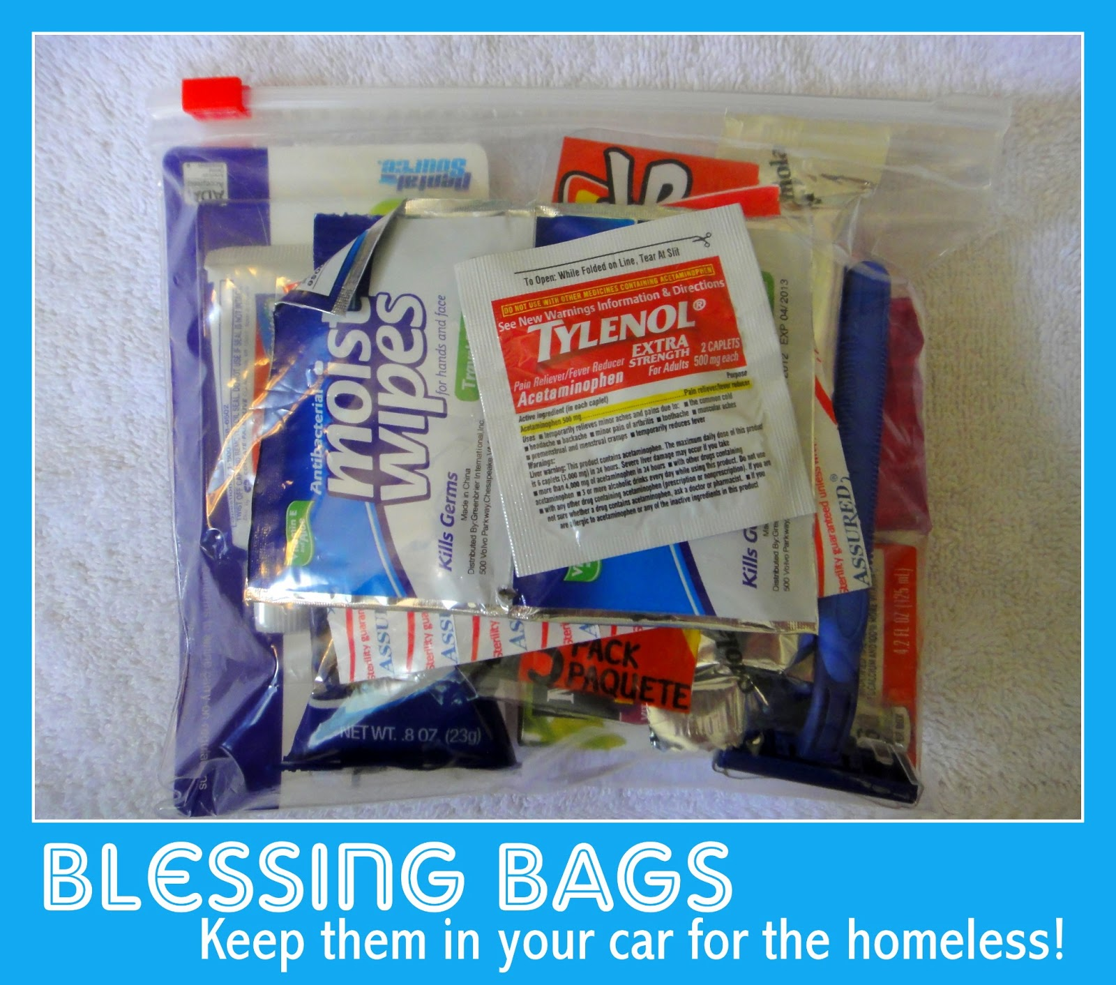 Keep These Blessing Bags On Hand Or In Your Car For Passing Along To Someone Need We Live A Suburb Of Detroit Quite Frequently Find Ourselves