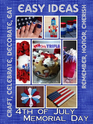 patriotic menu, crafts, activities, decorating ideas