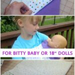 Free Pattern: Bitty Baby Wrap Blanket Swaddle
