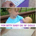 Free Pattern: Bitty Baby Wrap Blanket Swaddle