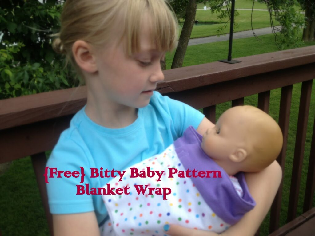 Free Pattern Bitty Baby Swaddle Blanket All Things With Purpose