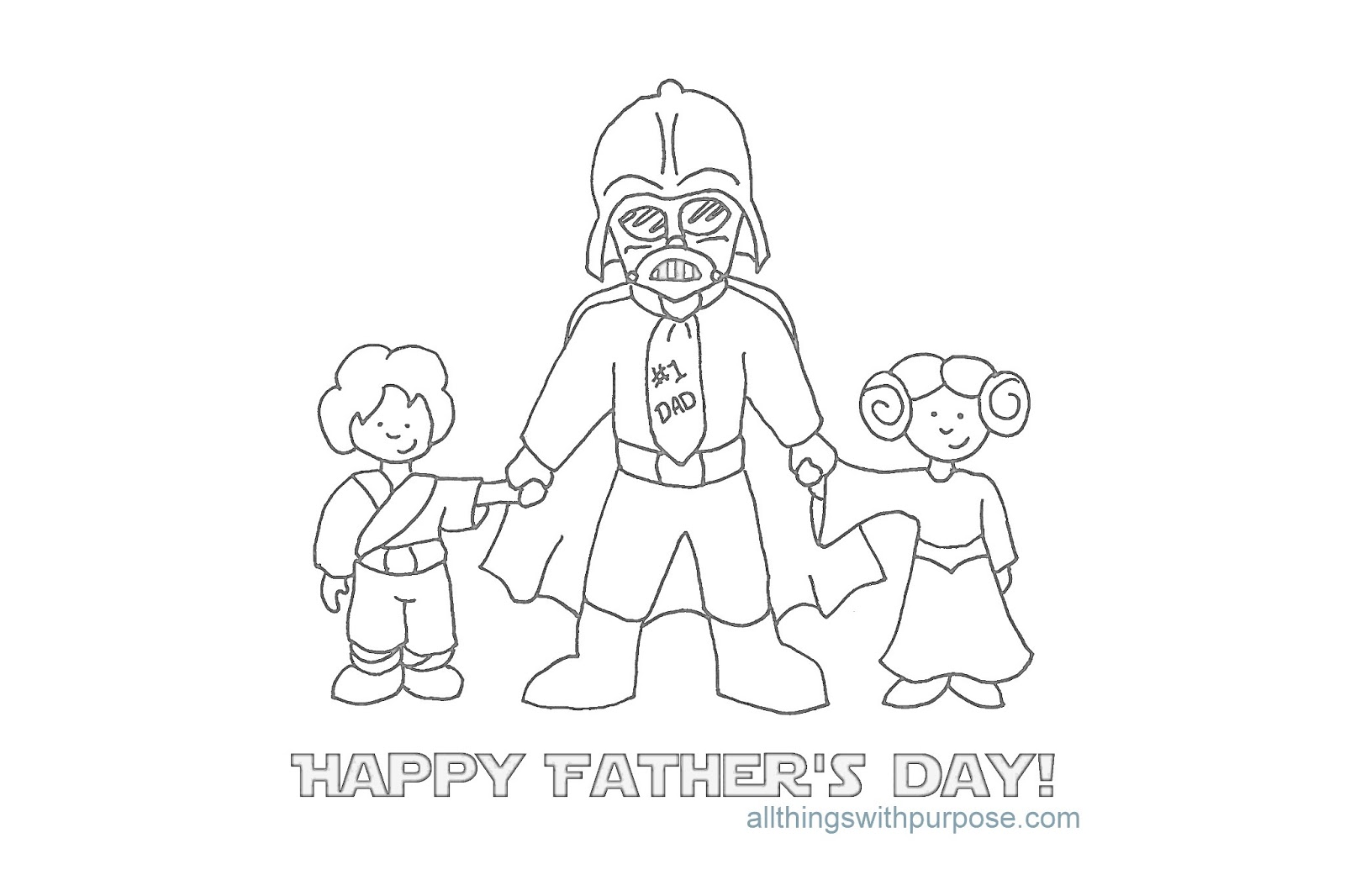Fun Fathers Day Printable Images | All Things with Purpose