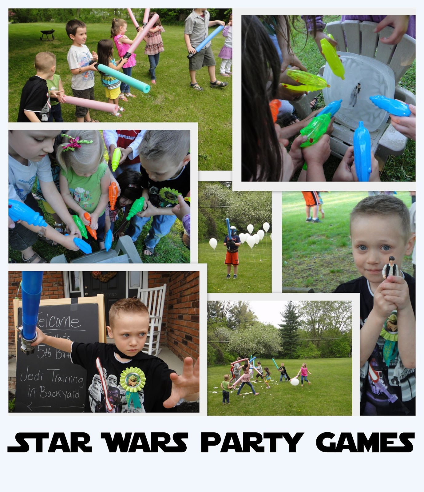 Star Wars Themed Party Games