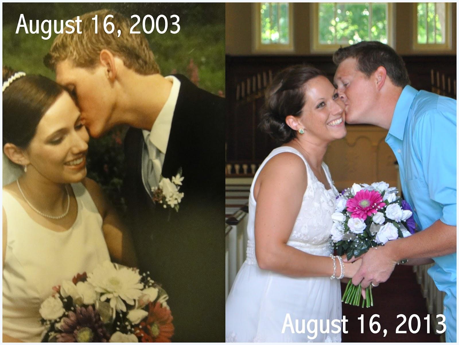 10 year anniversary photo ideas