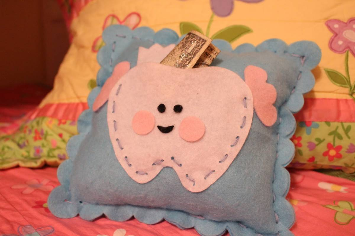 Tooth Fairy Pillow For Girls Diy