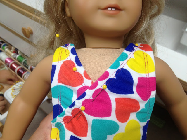 American Girl Swimsuit & Beach Bag Pattern
