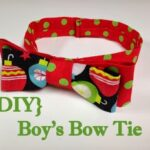 Boys {Christmas} Bow Tie Tutorial and Pattern