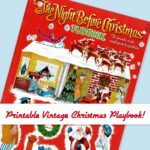 Vintage Christmas Activity Set