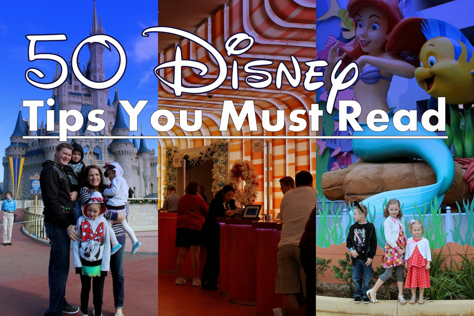 50 Disney Tips you HAVE to read!!