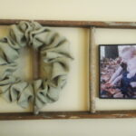 Old Ladders and Burlap = Love