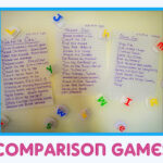 Comparison Games: Be {Thankful} for Your Child's Accomplishments