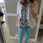Who's Tired of Winter? Spring Fashion and Thrifting for Emerald {Color of the Year}