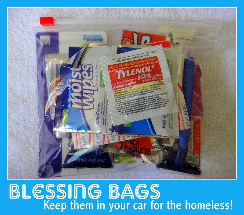 Blessing Bags for the Homeless
