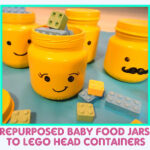 Baby Food Jar Lego Heads