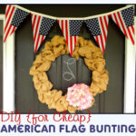 American Flag Bunting Tutorial