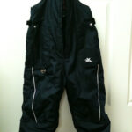Quick Fix Snow Pants with a Broken Zipper