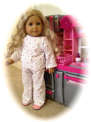 American Girl Doll Free Pajamas Pattern