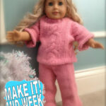 American Girl Sweater Outfit