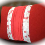 Sewing With Sweaters: A Valentine Pillow