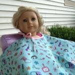 American Girl 18″ Doll Salon Cape Free Pattern