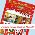 Vintage Christmas Playbook (Free Printable)