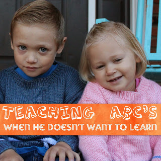 Teaching ABC's and Learning to Read
