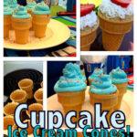 Cup Cake Ice Cream Cones!