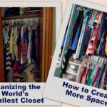 Organizing the World's Smallest Closet