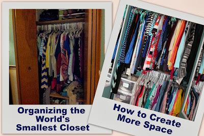 Organizing the World's Smallest Closet