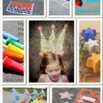 {Summer Fun} Sidewalk Chalk Recipies, Ideas & Games