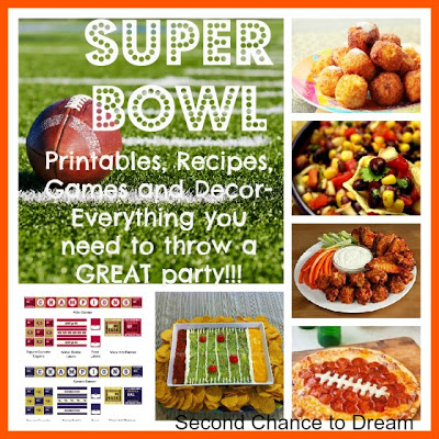 Game Day: Printables, Recipes and Activities for Your Super Bowl Party!