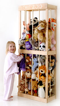 DIY Storage Solutions for Stuffed Animals