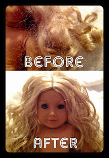 {DIY} Fixing Your American Girl Doll's Hair without a Trip to the Doll Hospital