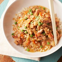 Slow Cooker Peanut Chicken Over Rice 3
