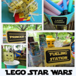 Lego Star Wars Party: Free Printables, Games, Menu Ideas