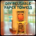 No Paper, Paper Towels