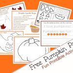 Printable Pumpkin Activity Pack