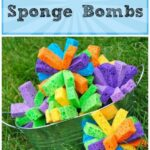 Sponge Bombs!! Summer Water Fun!!