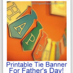 Printable {Father's Day} Bunting Banner