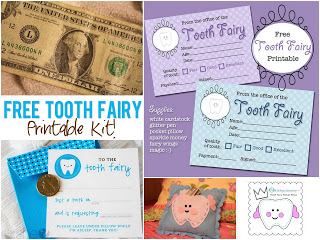 Tooth Fairy Fun! {Free Pattern}