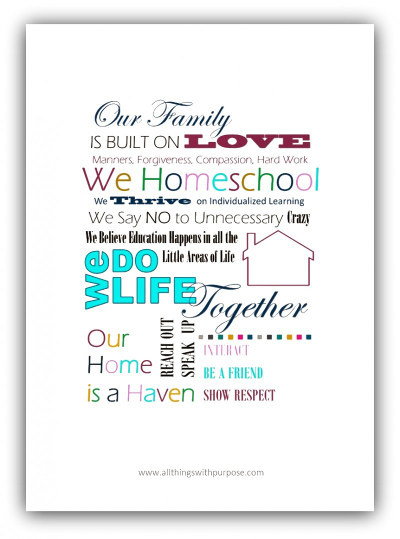 Homeschool Family Image