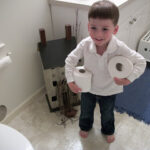 Children's Bathroom Chores Age 3