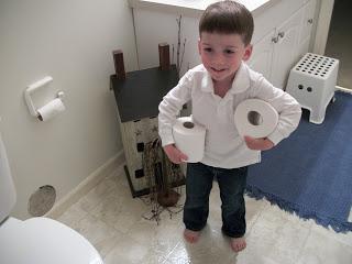 Children's Bathroom Chores Age 3